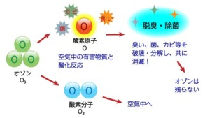 オゾン酸化法